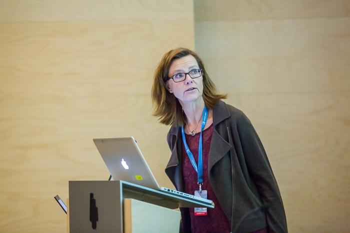 Eva Maria Svensson. Foto: Þóra Kristín Ásgeirsdóttir