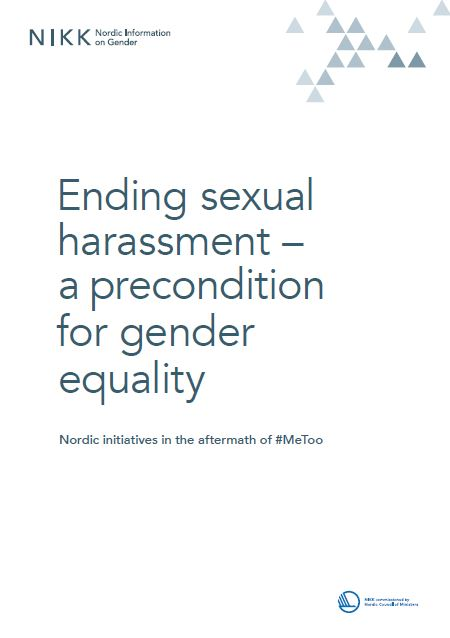 Ending sexual harassment – a precondition for sexual harassment
