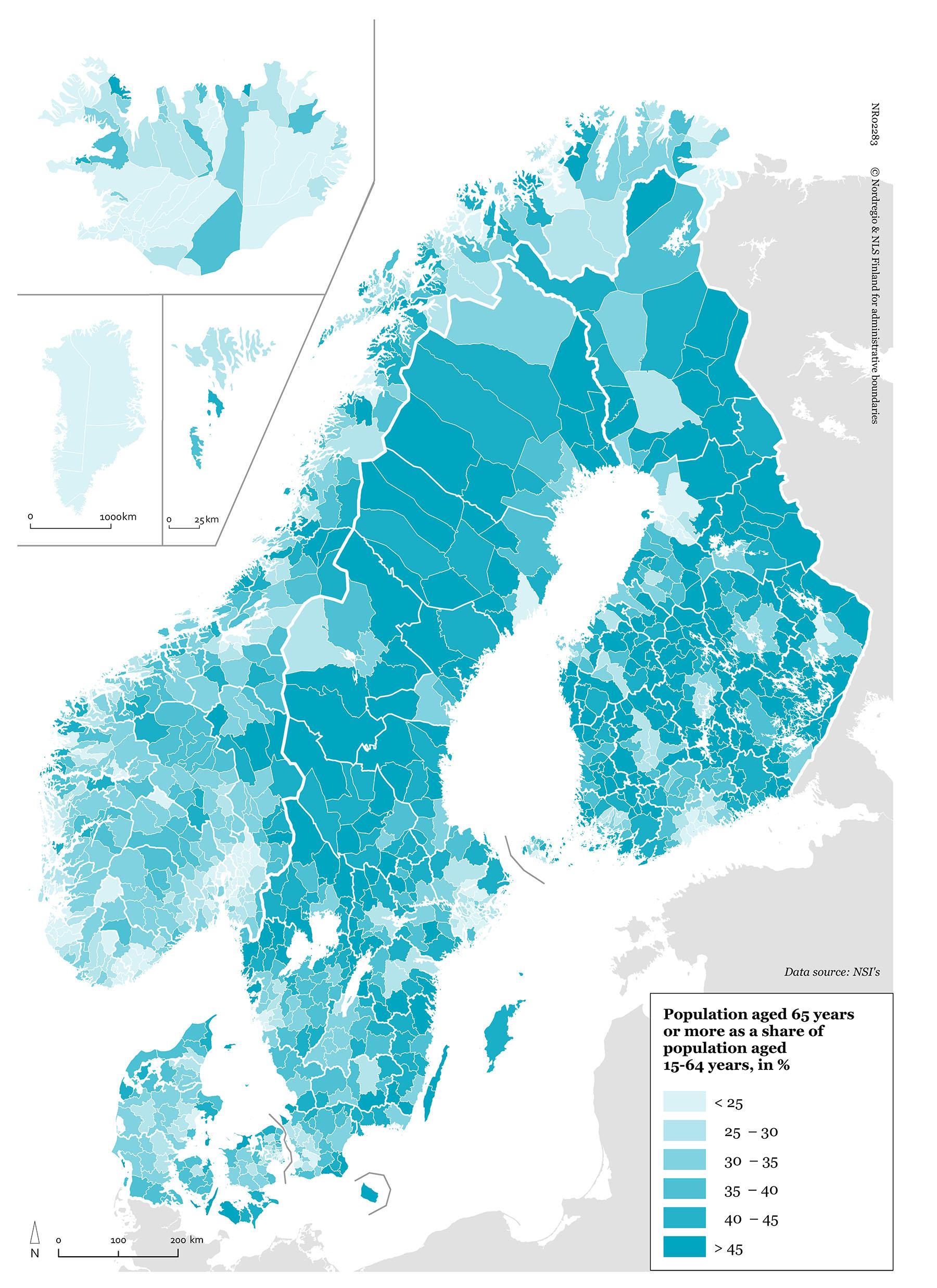 Den demografiska försörjningskvoten