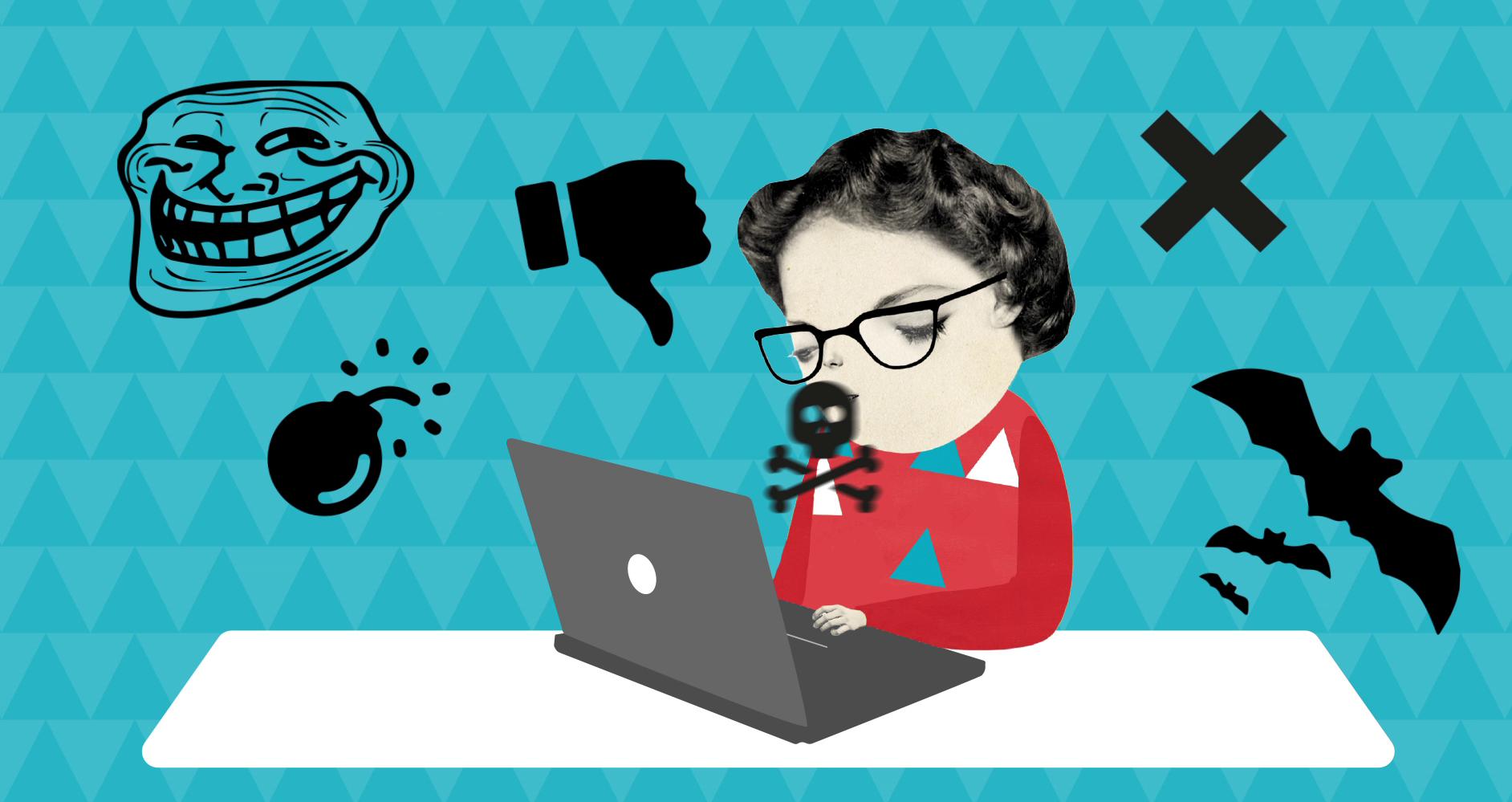 Hat och hot på nätet