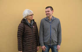 Peter Ussing and Kirsten Precht. Photo: Jørgen Poulsen