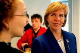 Justitieminister Anna-Maja Henriksson