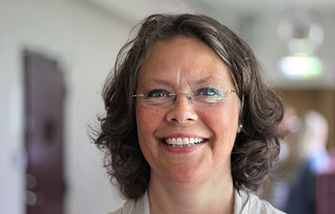 Katharina Andersson. Foto: Ove Wall, HiG