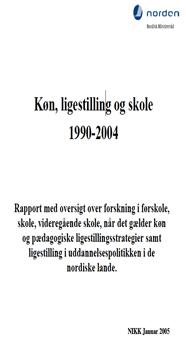 Frontp_NIKKpub2004_Kön_jämställdhet_skola_1990-2004