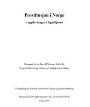 Frontp_NIKKpub2007_Prostitusjon i Norge_oppfatninger i fagmiljøene_2007