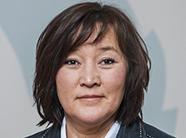 Martha Lund Olsen, jämställdhetsminister på Grönland, öppningstalade vid seminariet. Pressbild