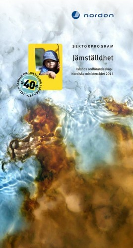Publikation om Islands ordförandeskap