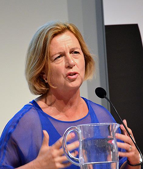 Sveriges jämställdhetsminister Maria Arnholm.