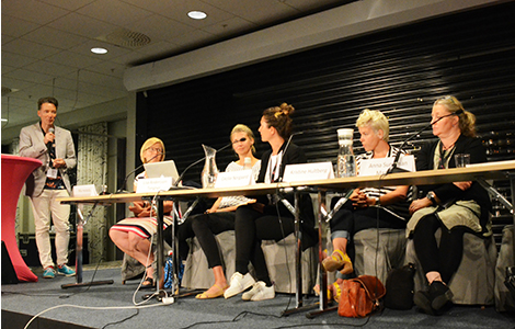 Foto seminariumet Duktiga flickor kostar inte. Foto: Charlie Olofsson