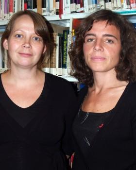 May-Len Skilbre & Charlotta Holmström. Billede: KILDEN.