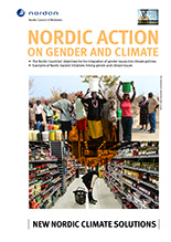 Nordic action on gender and climate